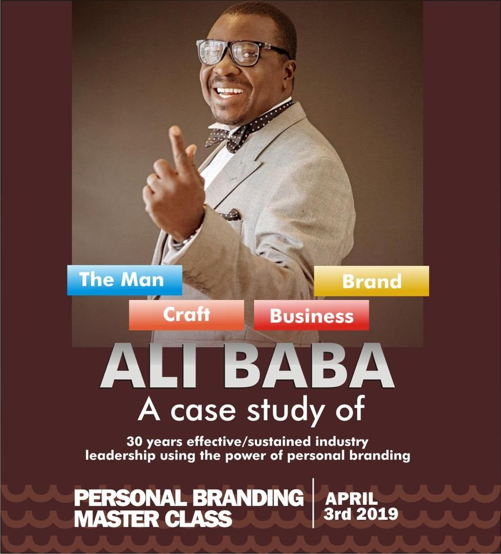 ALI BABA PERSONAL BRANDING MASTER CLASS