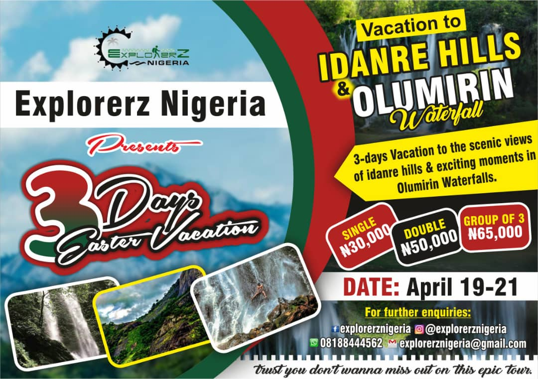 EASTER VACATION AT IDANRE HILL