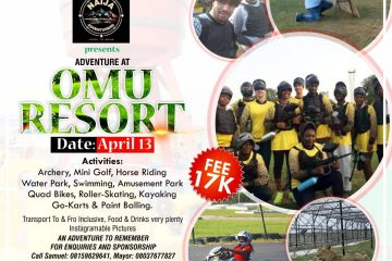 Adventure at Omu Resort