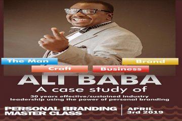 ALI BABA (A CASE STUDY) PERSON …
