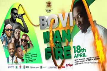 "BOVI MAN ON FIRE ""LIVE I …"