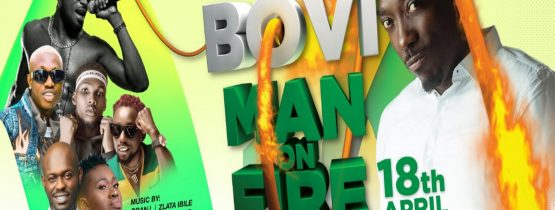 "BOVI MAN ON FIRE ""LIVE IN WARRI"""