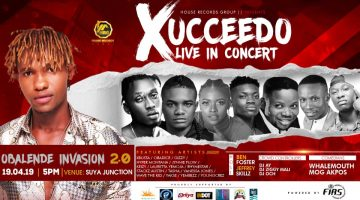 XUCCEDO LIVE IN CONCERT