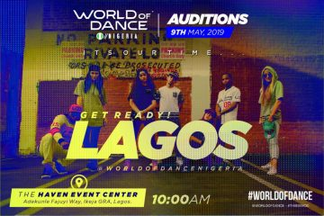 World Of Dance Lagos Auditions