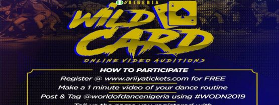 WILD CARD ONLINE VIDEO AUDITIONS WORLD OF DANCE