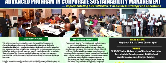 Advanced Program in Corporate Sustainability Management