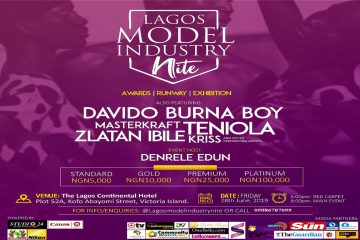 LAGOS MODEL INDUSTRY NITE 2019