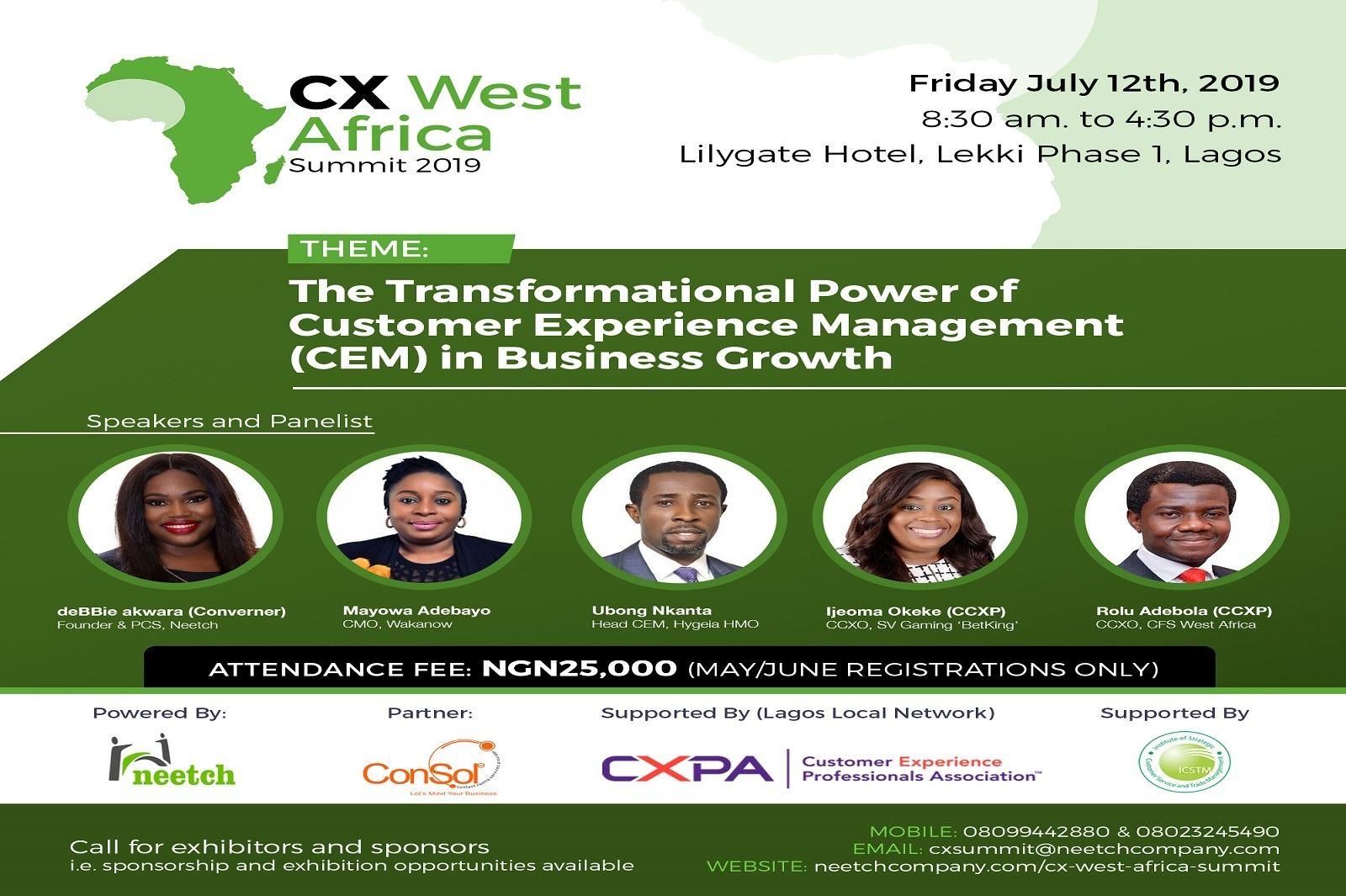 cx west African summit 2019