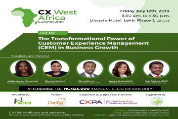 CX WEST AFRICA SUMMIT 2019