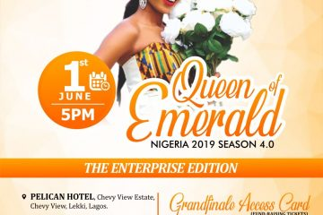 Queen of Emerald Nigeria 2019
