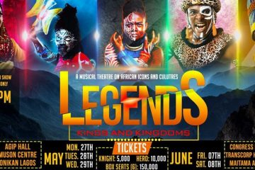 "LEGENDS THE MUSICAL ""LAG …"