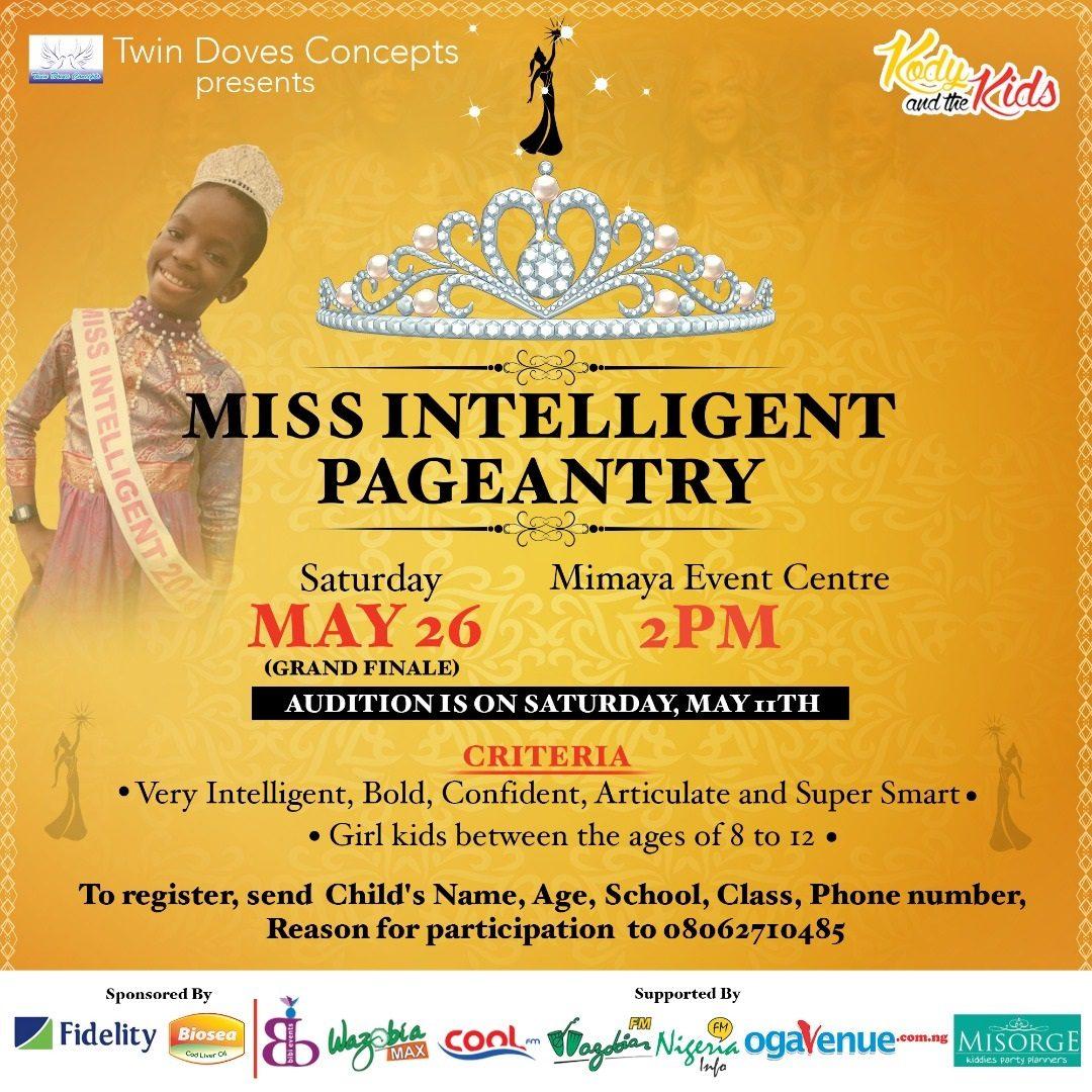 Miss Intelligent pageantry