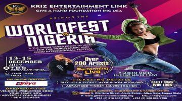 WORLDFEST TO NIGERIA