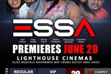 ESSA – Movie Premiere Lagos Edition