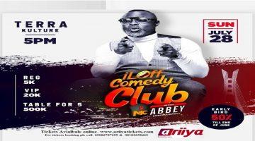 I LAFF COMEDY CLUB WITH MC ABBEY