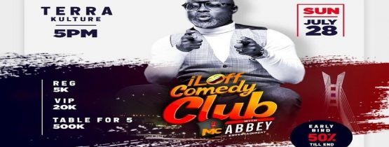 I LAFF COMEDY CLUB WITH MC ABBEY