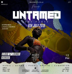 EVENT - UNTAMED THE PARTY