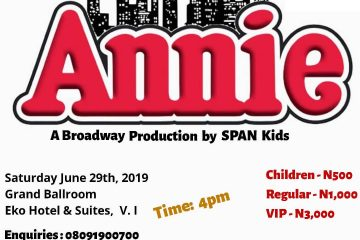 ANNIE a broadway production by …