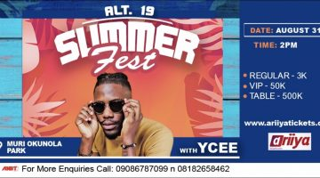ATL-19 SUMMER MUSIC FEST WITH YCEE
