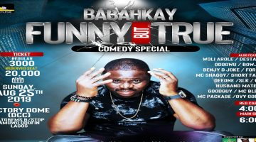 BABAHKAY FUNNY BUT TRUE COMEDY SPECIAL