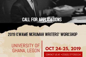 Ghana Year Of Return: 2019 Kwame Nkrumah Writers' Workshop