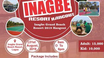 inagbe Grand Beach Resort 2019 Hangout.