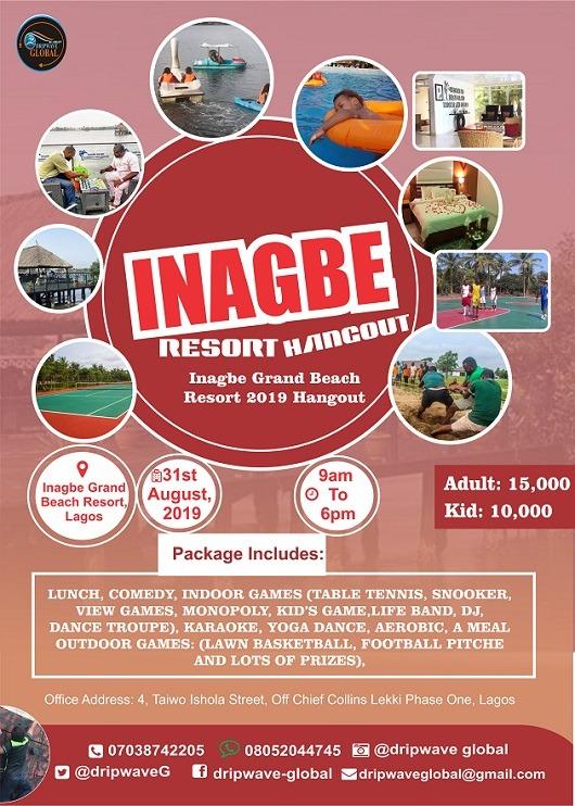 inagbe Grand Beach Resort 2019 Hangout