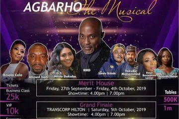 AGBARHO THE MUSICAL
