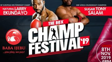 The Box Champ Festival 2019