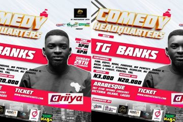 COMEDY HEADQUARTERS WITH TG BA …