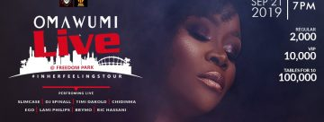 OMAWUMI LIVE AT FREEDOM PARK