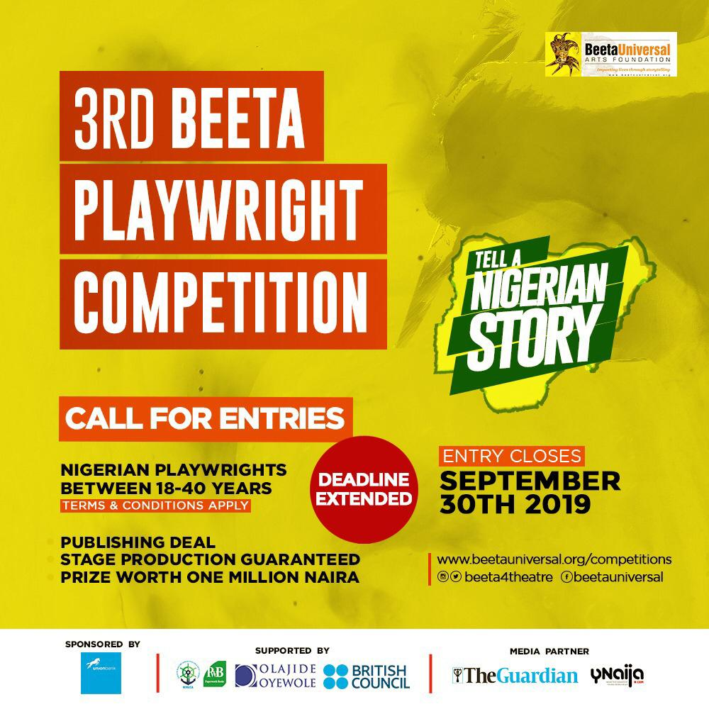 BEETA PLAYWRIGHT COMPETITION