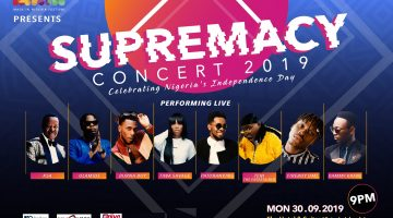 THE SUPREMACY CONCERT 2019