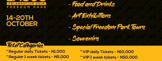"""THIS IS LAGOS"" FELABRATION AT THE FREEDOM PARK"