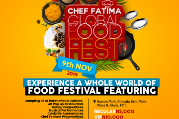 Chef Fatima Global Food Fest