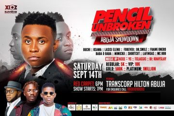 PENCIL UNBROKEN ABUJA SHUTDOWN