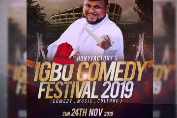 IGBO COMEDY  FESTIVAL 2019