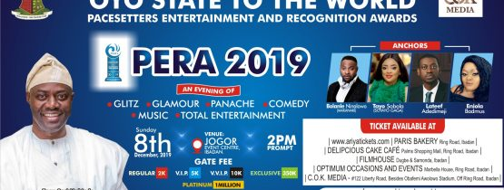 PACESETTERS ENTERTAINMENT AND RECOGNITION AWARD 2019