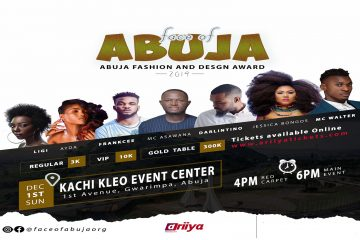 FACE OF ABUJA FASHION AND DESI …