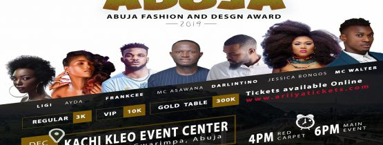 FACE OF ABUJA FASHION AND DESIGN AWARD