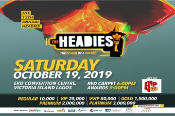 THE HEADIES AWARD