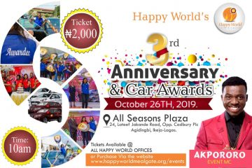 Happy World Meal Gate 3rd Anniversary & Car Awards