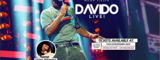 JOS CHILLIN MEGA FIESTA WITH DAVIDO