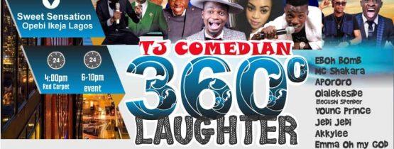 TJ  COMEDIA 360″ LAUGHTER