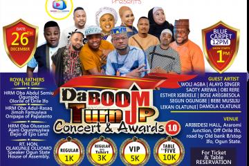 DA Boom Turnup Concert & A …