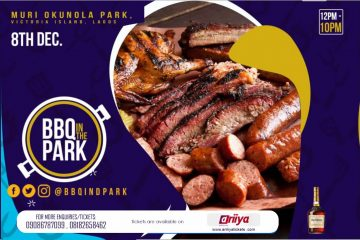 BBQ IN THE PARK.