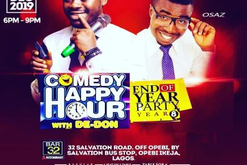 COMEDY HAPPY HOUR WITH D-DON