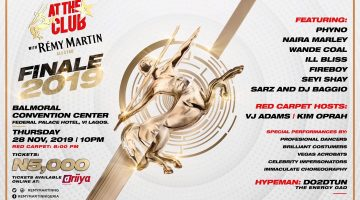 AT THE CLUB WITH REMY MARTIN FINALE 2019