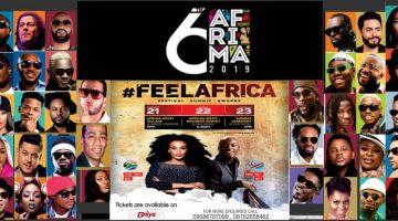 6TH AFRIMA AWARDS CEREMONY 2019