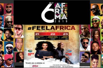 6TH AFRIMA AWARDS CEREMONY 201 …